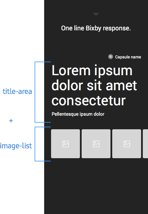 Detail Layout with Image Carousel